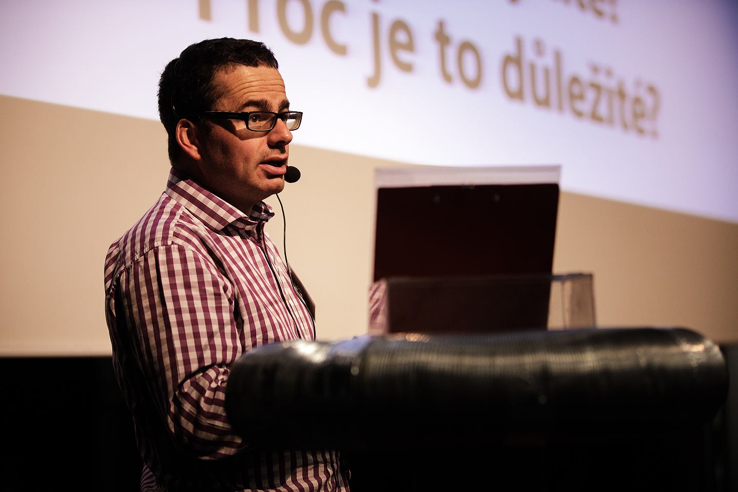 Jason at a recent European conference.