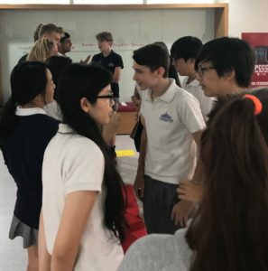 Argumentennis demonstrated at Ho Chi Minh International School, 2017