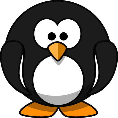round-penguin-vector-art