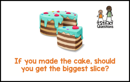 stickyquestions-cake