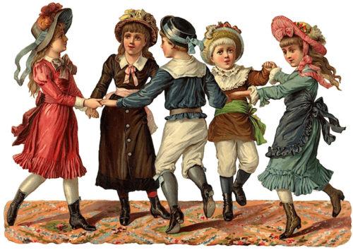 dancing-victorian-children